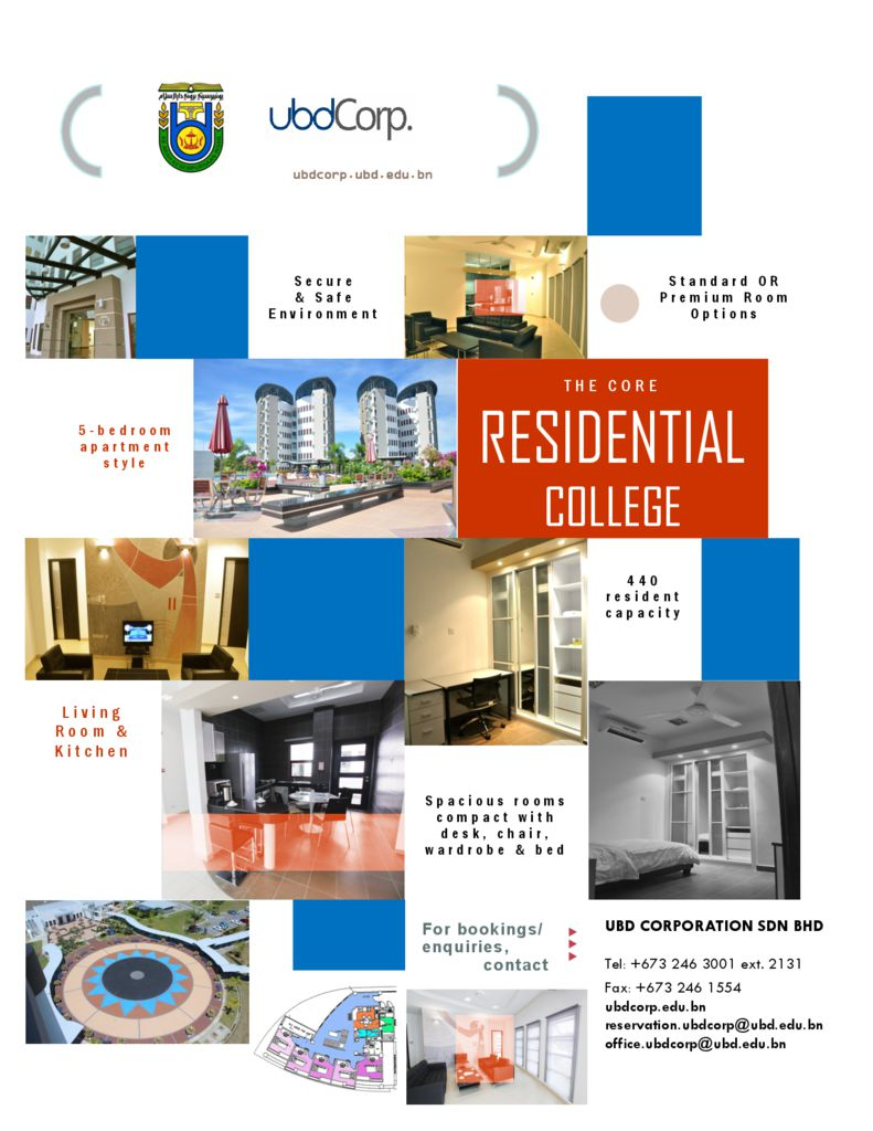 thumbnail of UBD The Core Residential College – Standard & Premium Rooms