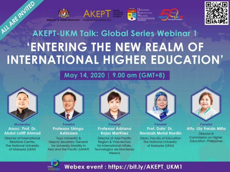Global Talk Series Webinar Edition 1 Embracing The New Normal In International Higher Education